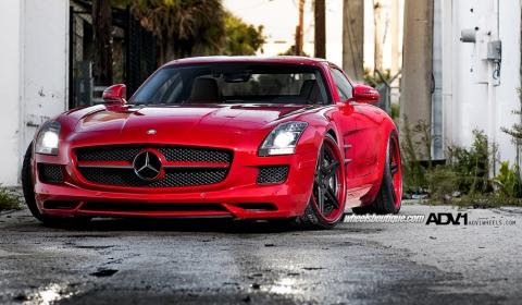 Mercedes-Benz SLS AMG by Wheels Boutique & ADV.1