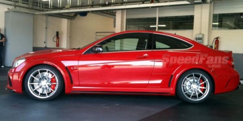 Mercedes C63 AMG Black Series Coupe Shows Its Face Ahead of Debut 01