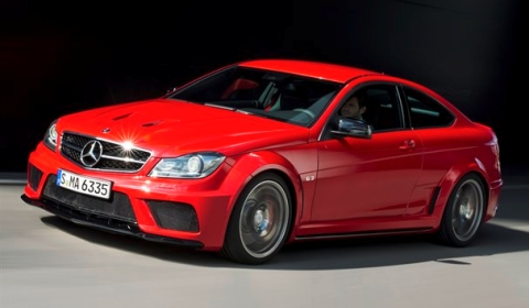 official 2012 mercedes benz c63 amg coupe black series