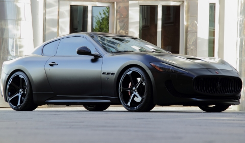 Official Maserati GranTurismo S Superior Black Edition by Anderson Germany