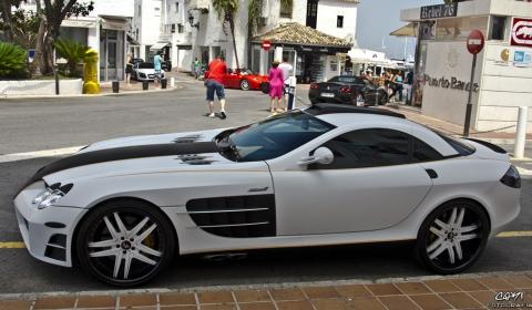 Overkill McLaren SLR Spotted in Marbella Spain 01