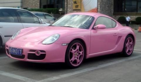 Overkill Pink Chinese Porsche Gayman