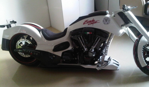 Pagani Zonda Cinque Custom Bike 1 of 5