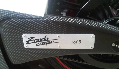 Pagani Zonda Cinque Custom Bike 1 of 5 01