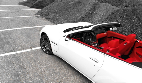 Photo of the day 2011 maserati grancabrio gtspirit for White maserati red interior