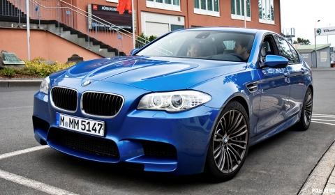 Photo Of The Day 2012 BMW F10M M5 at the Nurburgring