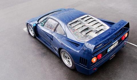 Photo Of The Day Ferrari F40 in Blu Pozzi