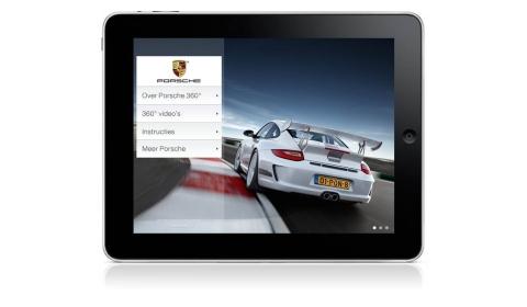 Porsche Launches 360 HD-video Experience App