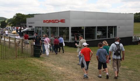 Porsche Stand Goodwood 2011