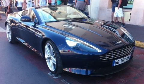 Spotted Aston Martin Virage Volante in St. Tropez