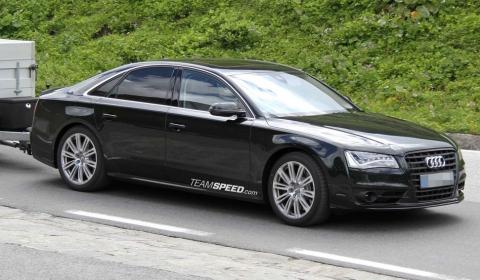 Spyshots 2012 Audi S8 Virtually Undisguised