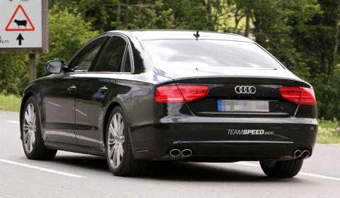 Spyshots 2012 Audi S8 Virtually Undisguised 01