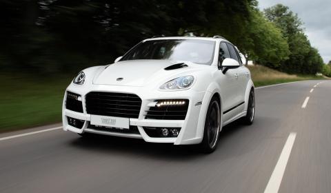 Official Techart Performance Program For Porsche Cayenne Sel