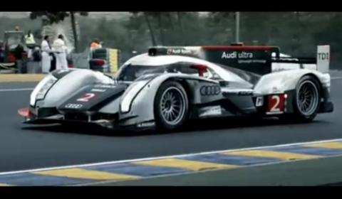 Video Audi Recaps 24 Hours of Le Mans 2011 Thriller