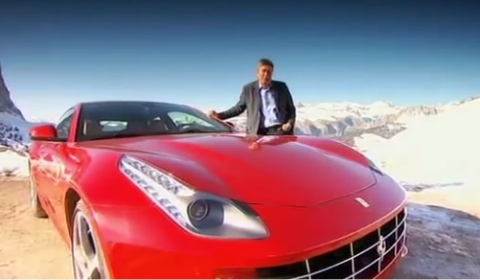 Video Fifth Gear's Tiff Needell Drives Ferrari FF