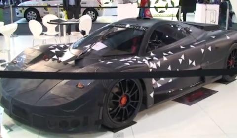 Video Joss The Australian Supercar At Australian Motor Show