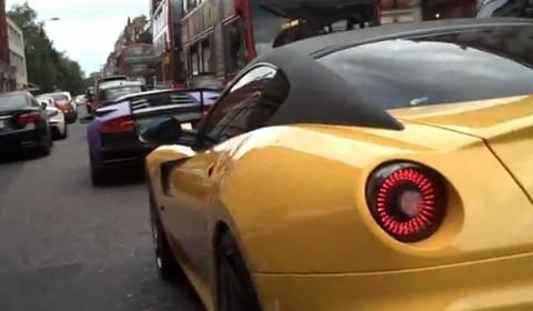 Video London Car Spotting on a Camera Bike