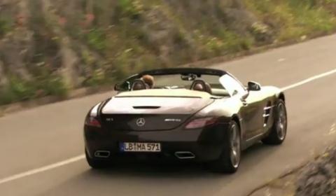 Video Mercedes-Benz SLS AMG Roadster Promo Clip