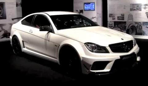 Video Mercedes Reporter & 2012 C63 AMG Coupé Black Series 01