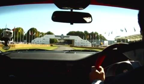 Video Porsche 911 GT2 RS Driven Up Goodwood Hill by Chris Harris