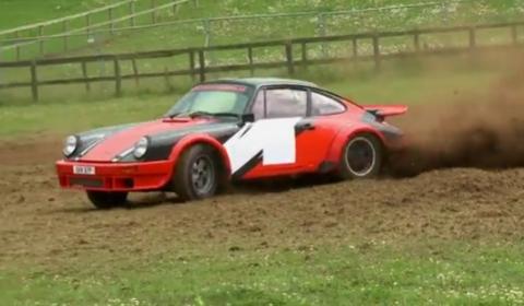 Video Porsche Cayenne Experience Goodwood 2011