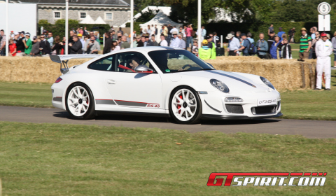 Video Supercars at Goodwood Festival of Speed 2011