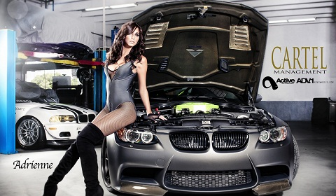 Cars and Girls ADV.1 Active Autowerke BMW M3 and Adrienne