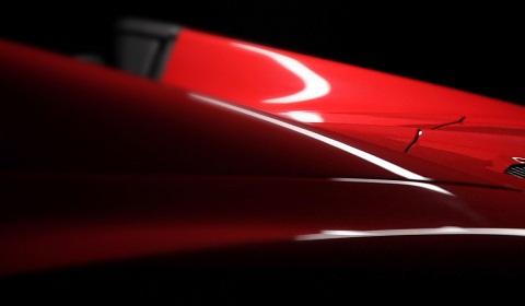 Ferrari 458 Spyder Teaser
