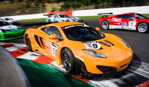 McLaren Test MP4-12C GT3