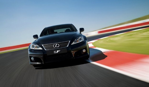 Official 2012 Lexus IS-F
