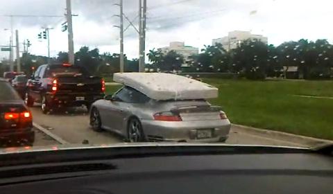 Porsche 911 Turbo Transporting Mattress