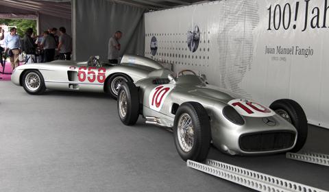 Schloss Dyck Classic Days 2011: Mercedes-Benz Silberpfeile