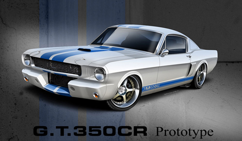 Classic Recreations Shelby G.T.350CR