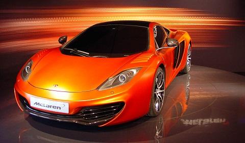 Spy Shots: McLaren MP4-12C Exclusive
