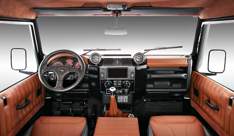 Vilner Refreshes Land Rover Defender Interior Gtspirit