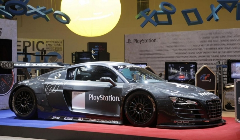 Audi R8 LMS Ultimate Racing Simulator by Sony