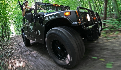 Call Of Duty Hummer H1 IRL by Cam Shaft Premium Wrapping