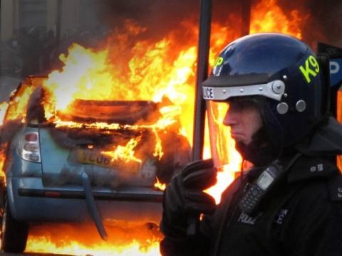 Citroen C3 on Fire