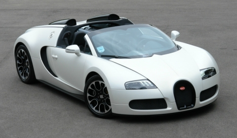 For Sale One-off Bugatti Veyron Grand Sport Sang Blanc