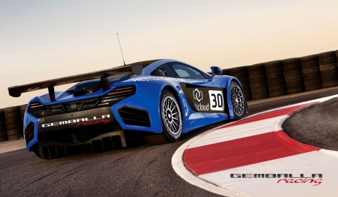 Gemballa Starts Racing Team with Two MP4-12C GT3s