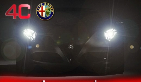 IAA 2011 Alfa Romeo Teases Revised 4C Concept
