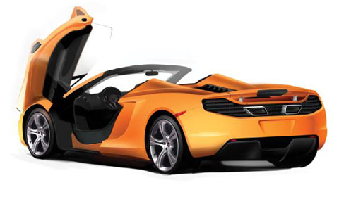 McLaren Works on Two Entirely New Models P12 & P13 - GTspirit