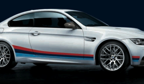Official BMW Stripe Package for M3 Coupe