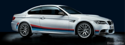 Official BMW Stripe Package for M3 Coupe 01