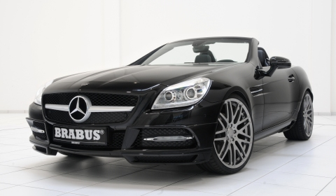 Official Brabus Sport Program for Mercedes-Benz SLK R172