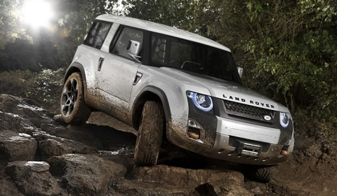 Official Land Rover Defender Concept