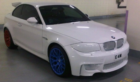 overkill: white bmw 1-series m coupe in singapore - gtspirit