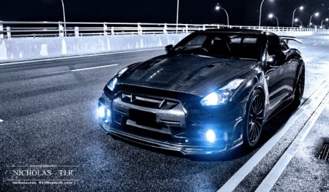 Photo Of The Day Nissan GT-R Wald Black Bison by Nicholas TJ.R