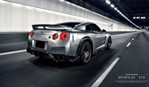 Photo Of The Day Nissan GT-R Wald Black Bison by Nicholas TJ.R 01