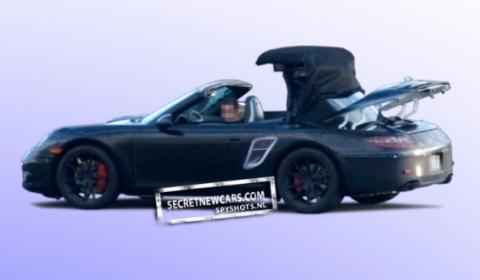 Porsche 991 Convertible Folding System